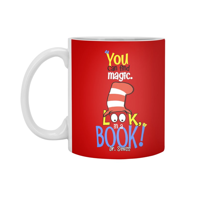 Look in a BOOK Accessories Mug by PickaCS's Artist Shop
