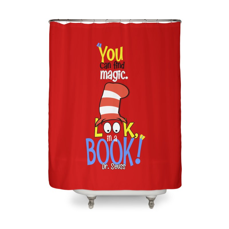 Look in a BOOK Home Shower Curtain by PickaCS's Artist Shop