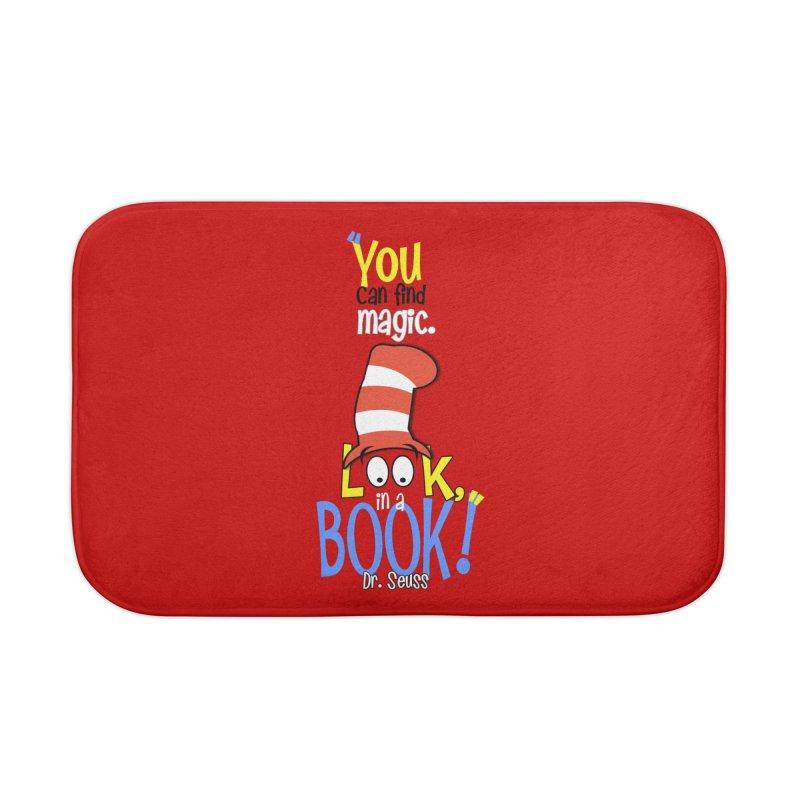 Look in a BOOK Home Bath Mat by PickaCS's Artist Shop