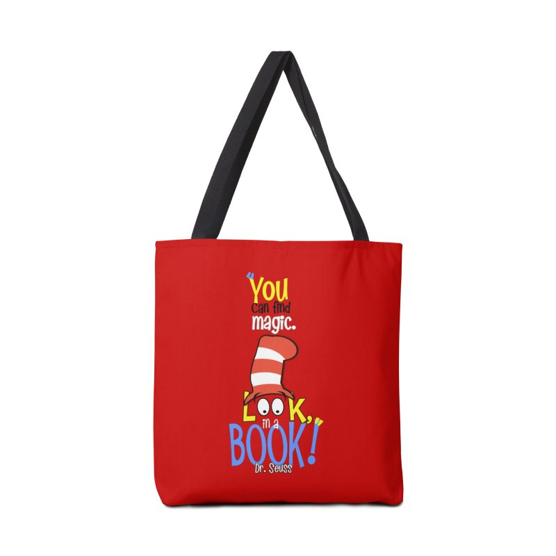 Look in a BOOK Accessories Bag by PickaCS's Artist Shop