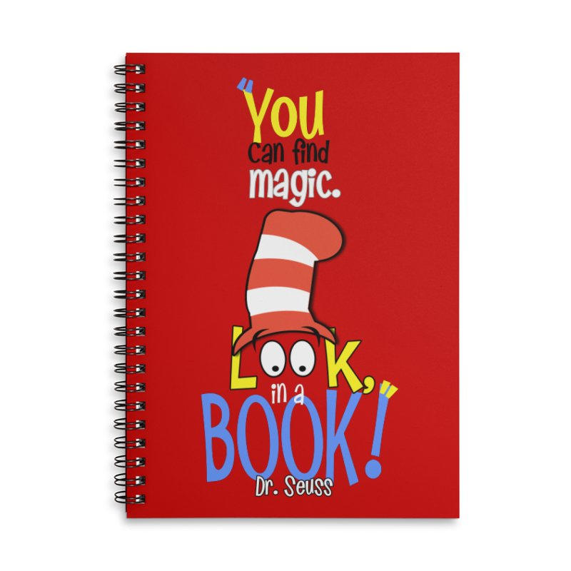 Look in a BOOK Accessories Notebook by PickaCS's Artist Shop