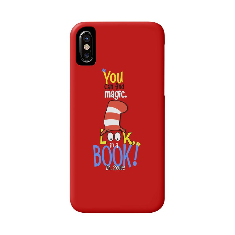 Look in a BOOK Accessories Phone Case by PickaCS's Artist Shop