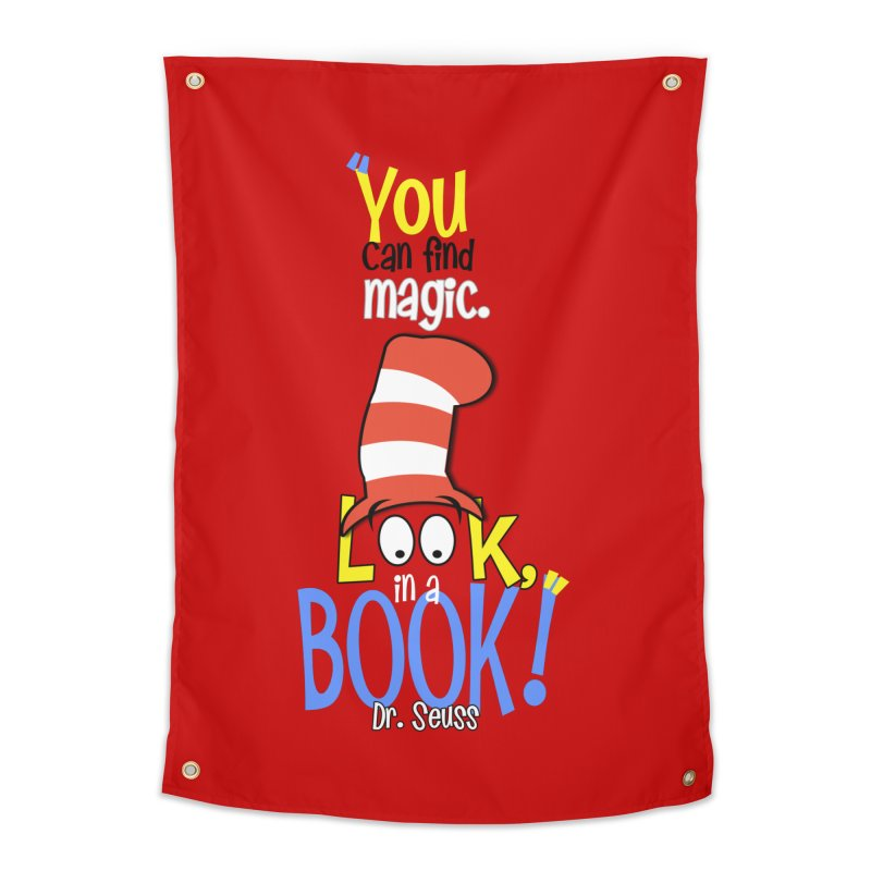 Look in a BOOK Home Tapestry by PickaCS's Artist Shop