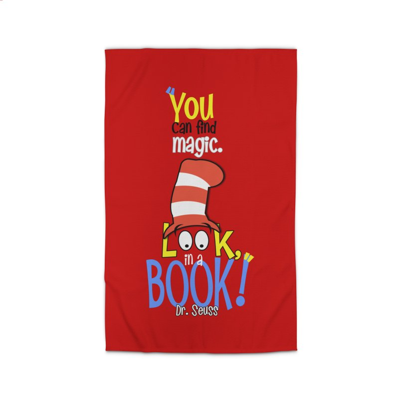 Look in a BOOK Home Rug by PickaCS's Artist Shop