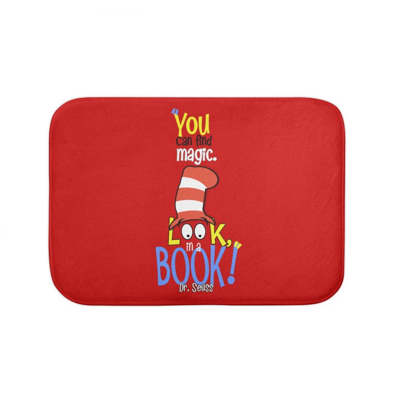 Look in a BOOK Home Bath Mat by PickaCS's Artist Shop