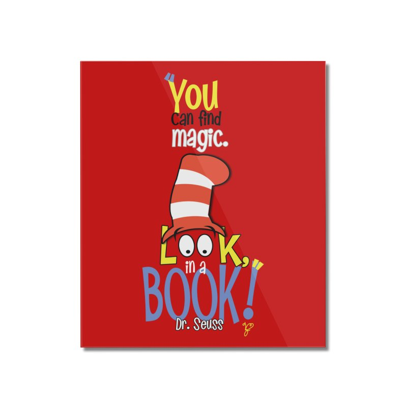 Look in a BOOK Home Mounted Acrylic Print by PickaCS's Artist Shop