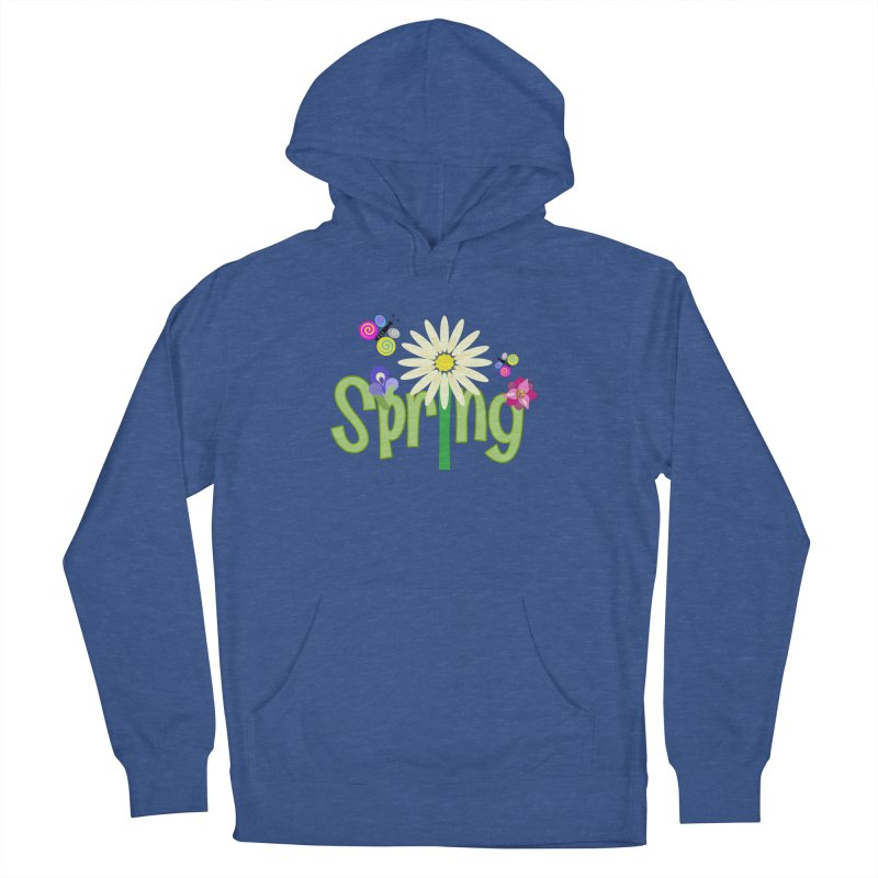 Spring Women's French Terry Pullover Hoody by PickaCS's Artist Shop
