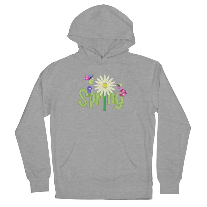Spring Men's French Terry Pullover Hoody by PickaCS's Artist Shop