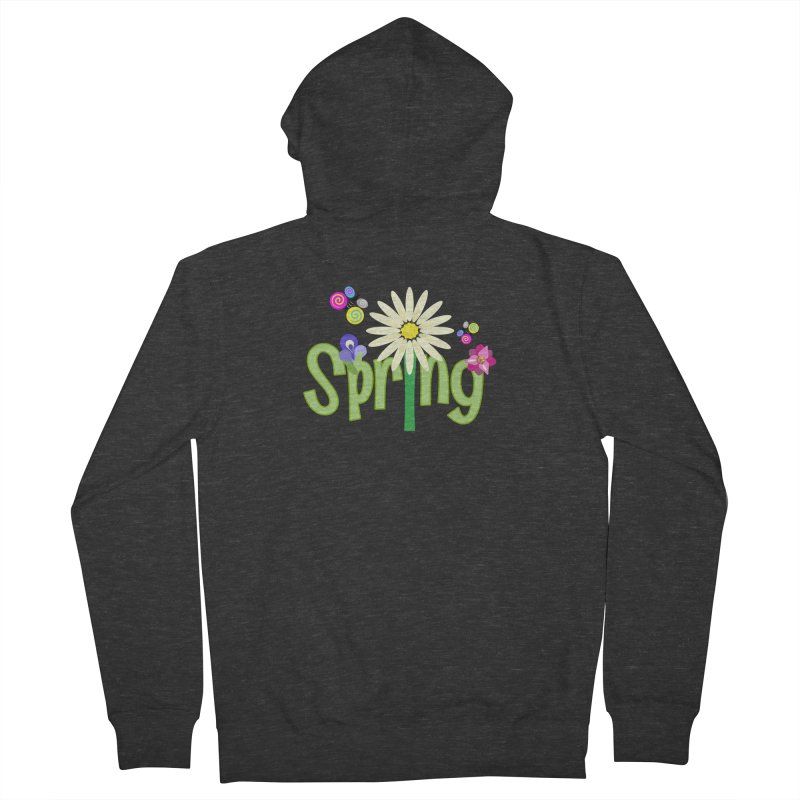 Spring Women's French Terry Zip-Up Hoody by PickaCS's Artist Shop