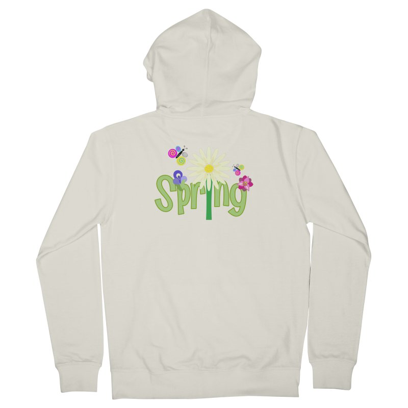 Spring Women's Zip-Up Hoody by PickaCS's Artist Shop