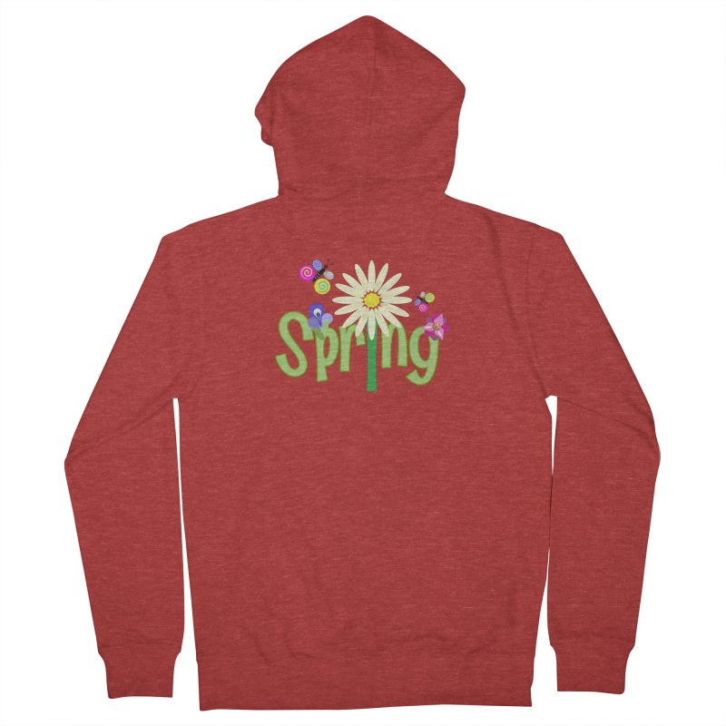 Spring Men's Zip-Up Hoody by PickaCS's Artist Shop