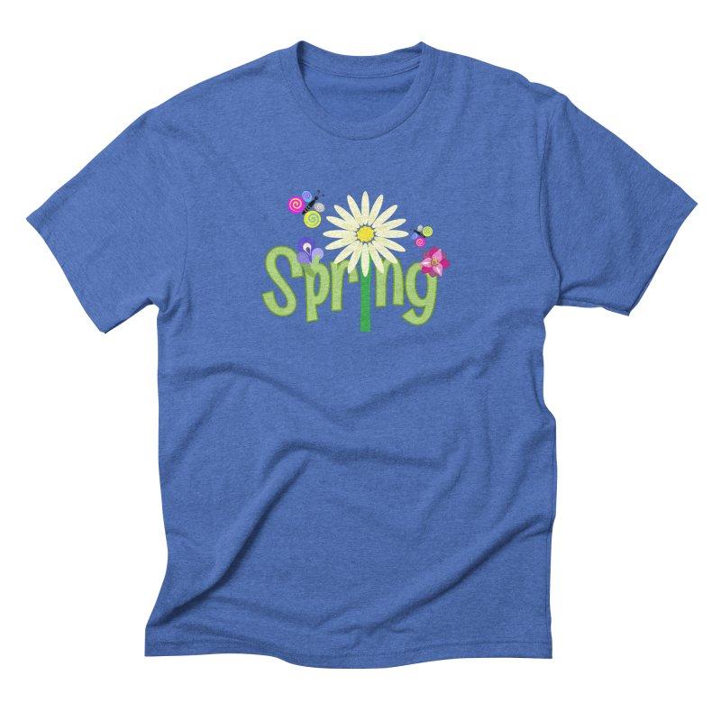 Spring Men's Triblend T-Shirt by PickaCS's Artist Shop