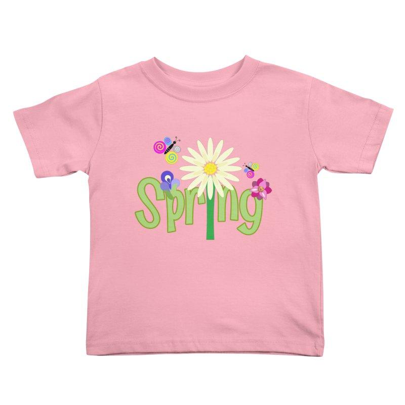 Spring Kids Toddler T-Shirt by PickaCS's Artist Shop