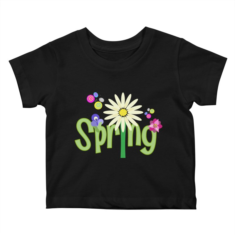 Spring Kids Baby T-Shirt by PickaCS's Artist Shop