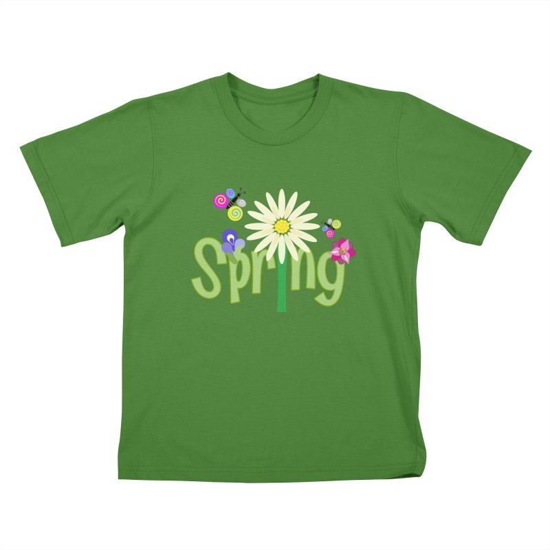 Spring Kids T-Shirt by PickaCS's Artist Shop
