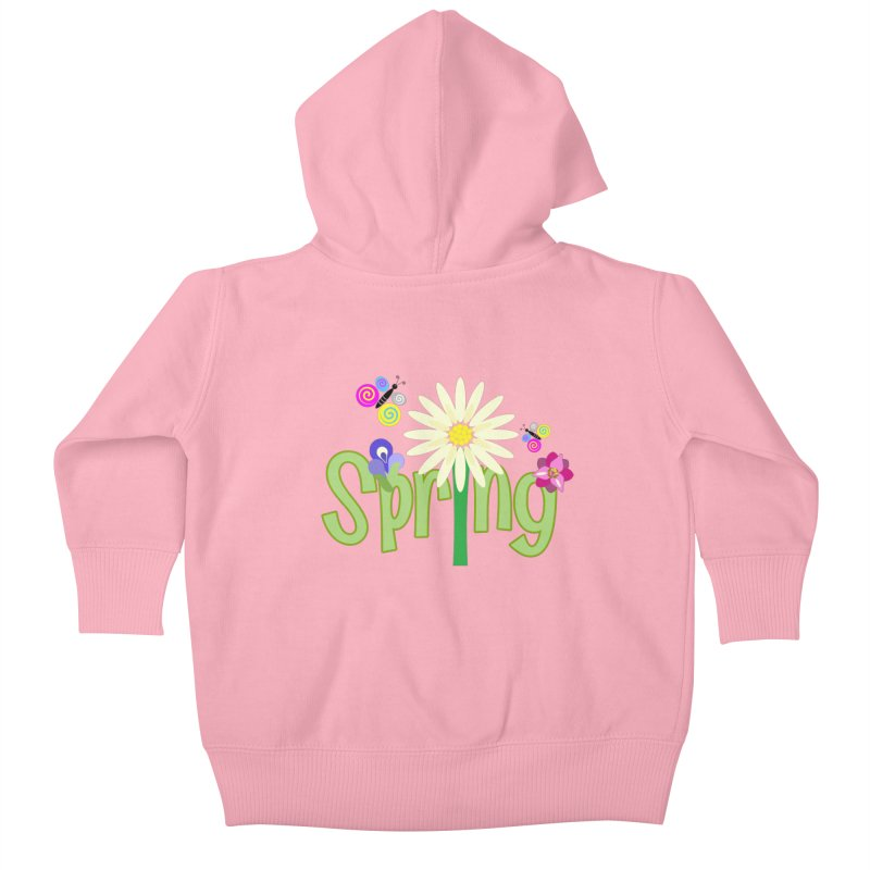 Spring Kids Baby Zip-Up Hoody by PickaCS's Artist Shop