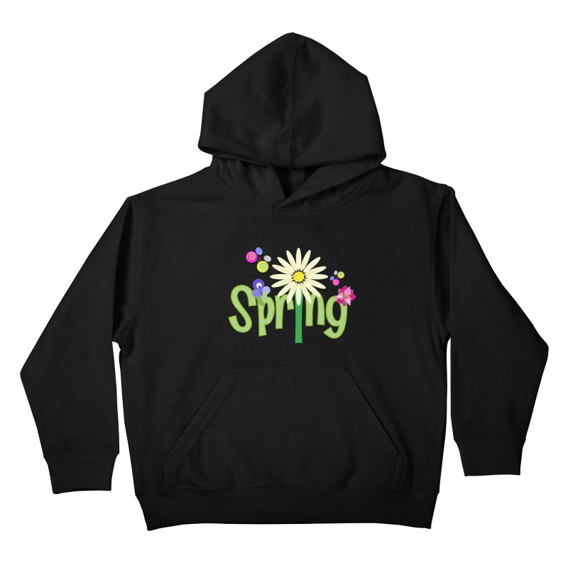 Spring Kids Pullover Hoody by PickaCS's Artist Shop