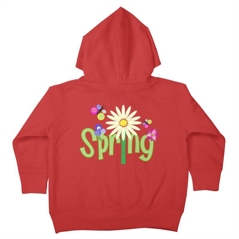 Spring Kids Toddler Zip-Up Hoody by PickaCS's Artist Shop