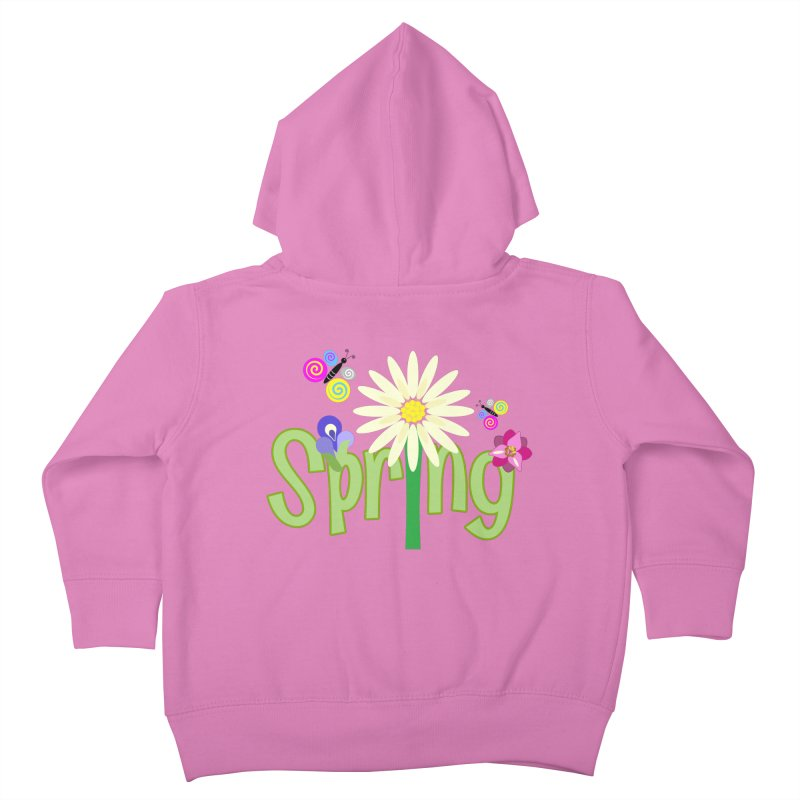 Spring Kids Toddler Zip-Up Hoody by PickaCS's Artist Shop