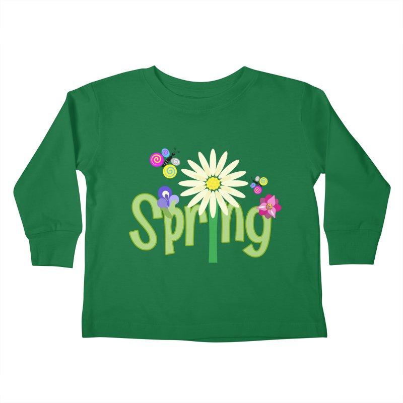 Spring Kids Toddler Longsleeve T-Shirt by PickaCS's Artist Shop