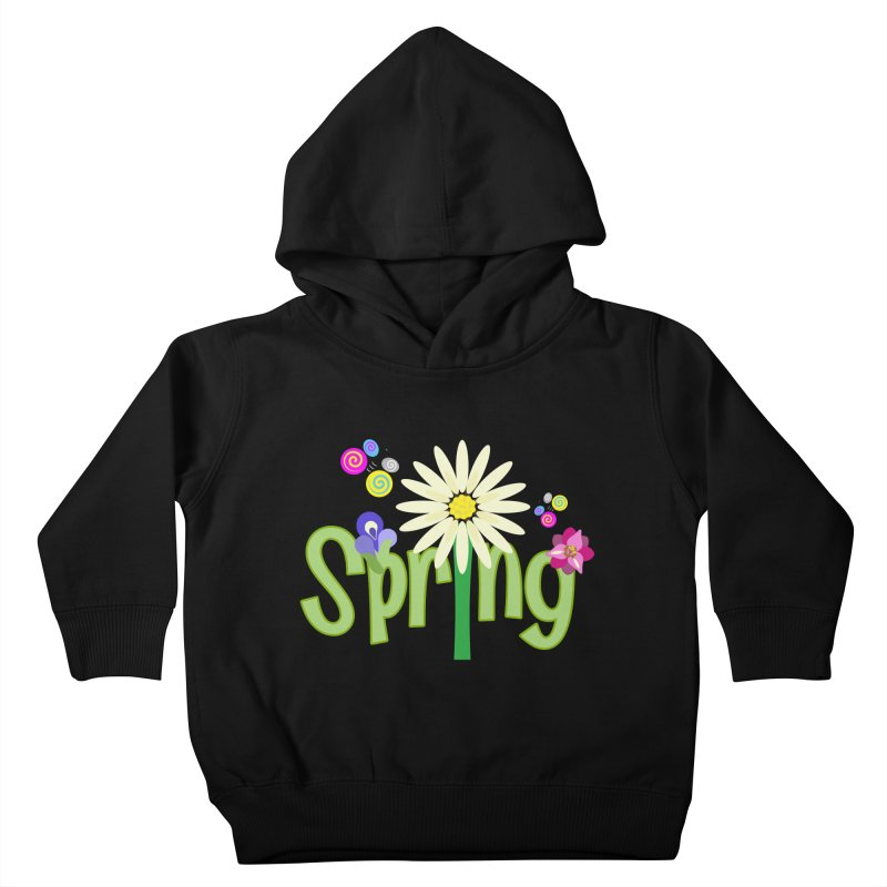 Spring Kids Toddler Pullover Hoody by PickaCS's Artist Shop