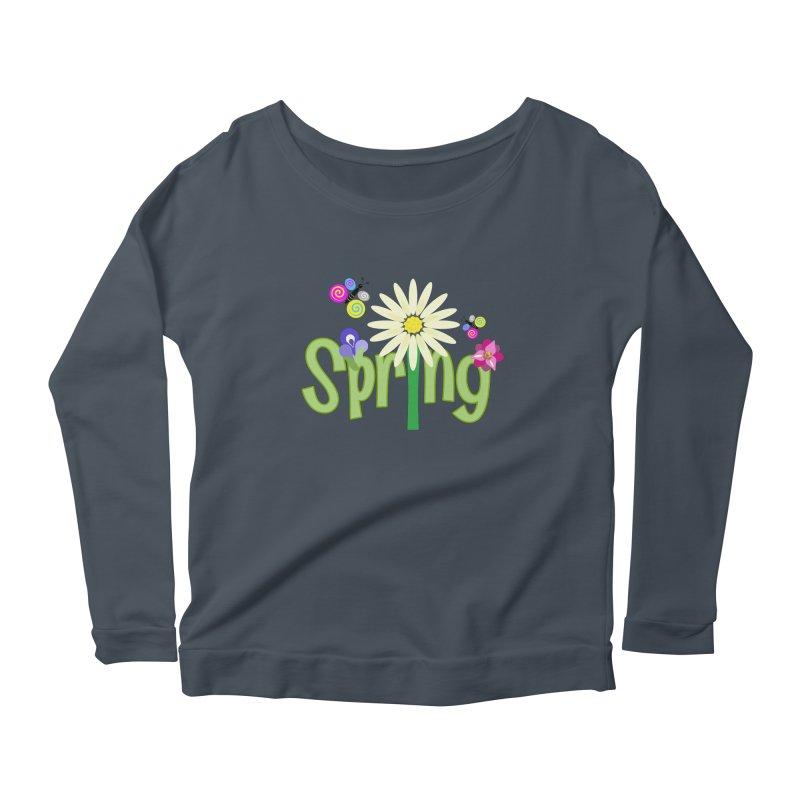 Spring Women's Longsleeve Scoopneck  by PickaCS's Artist Shop