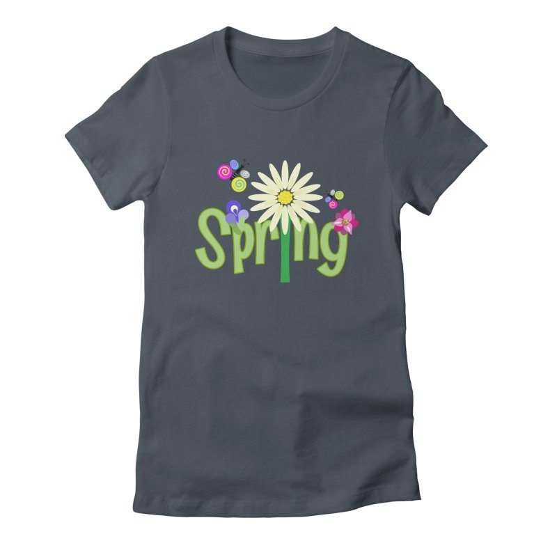 Spring Women's Fitted T-Shirt by PickaCS's Artist Shop