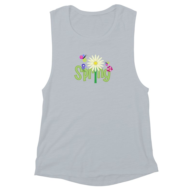 Spring Women's Muscle Tank by PickaCS's Artist Shop