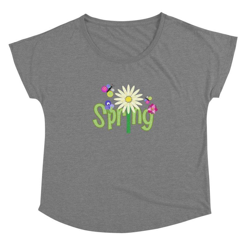 Spring Women's Scoop Neck by PickaCS's Artist Shop