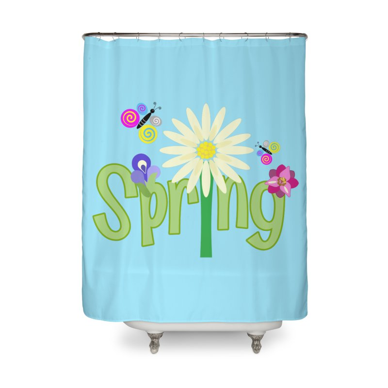 Spring Home Shower Curtain by PickaCS's Artist Shop