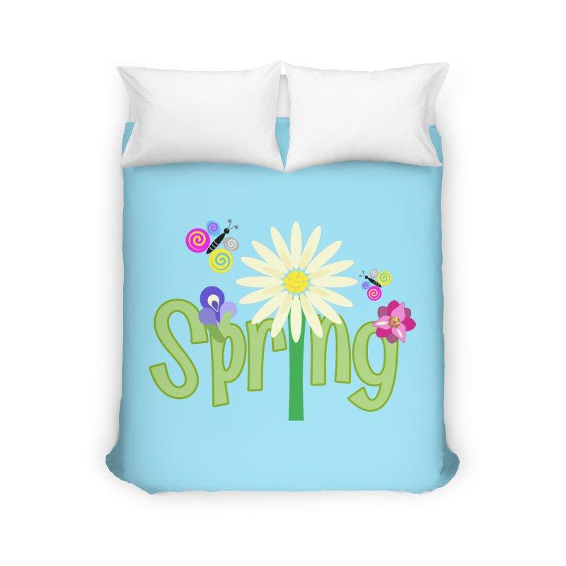 Spring Home Duvet by PickaCS's Artist Shop