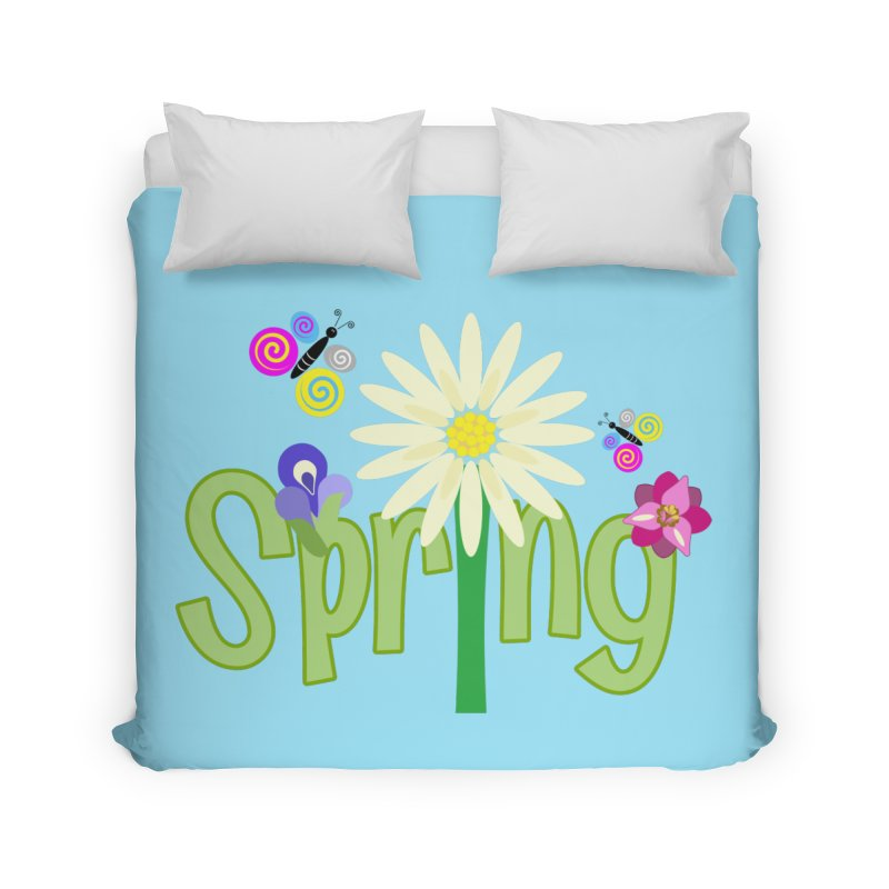Spring Home Duvet by PickaCS's Artist Shop