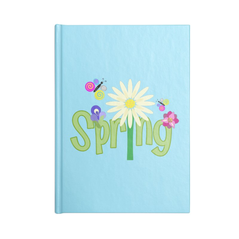 Spring Accessories Notebook by PickaCS's Artist Shop
