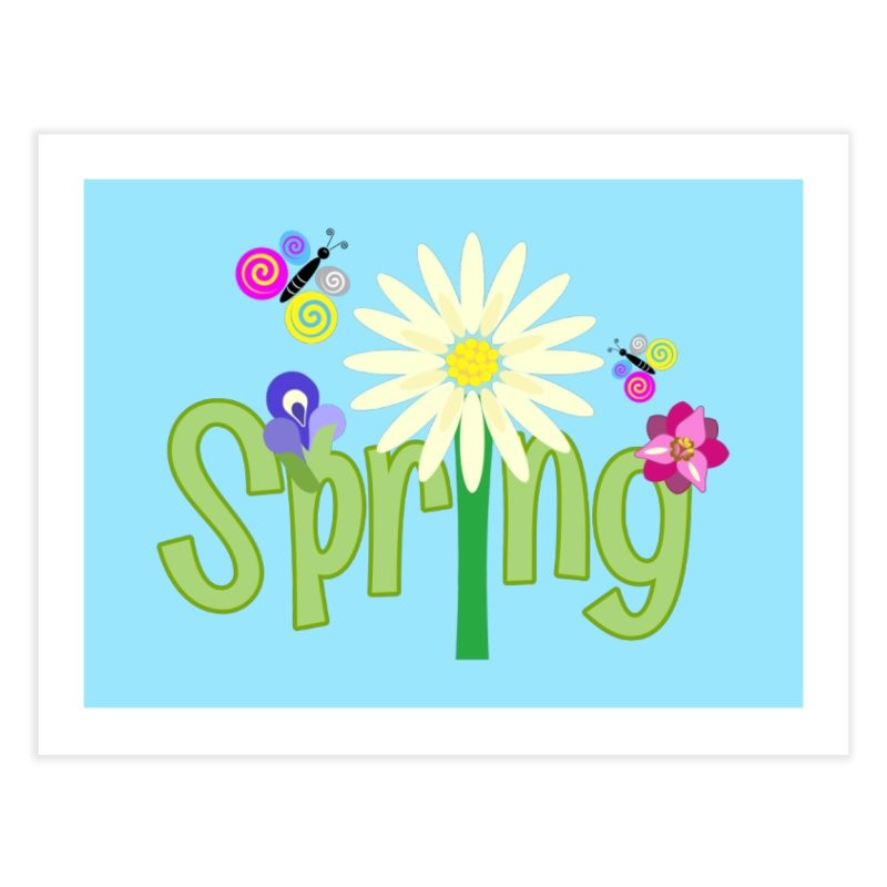 Spring Home Fine Art Print by PickaCS's Artist Shop