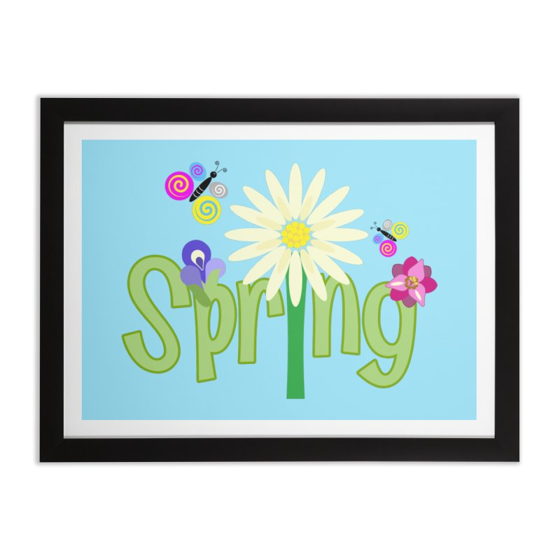 Spring Home Framed Fine Art Print by PickaCS's Artist Shop