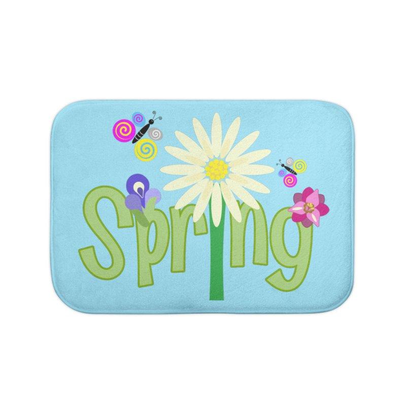 Spring Home Bath Mat by PickaCS's Artist Shop