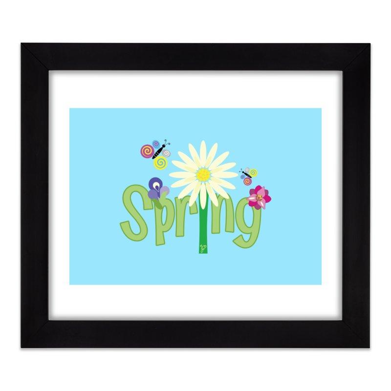 Spring Home Framed Fine Art Print by PickaCS's Artist Shop
