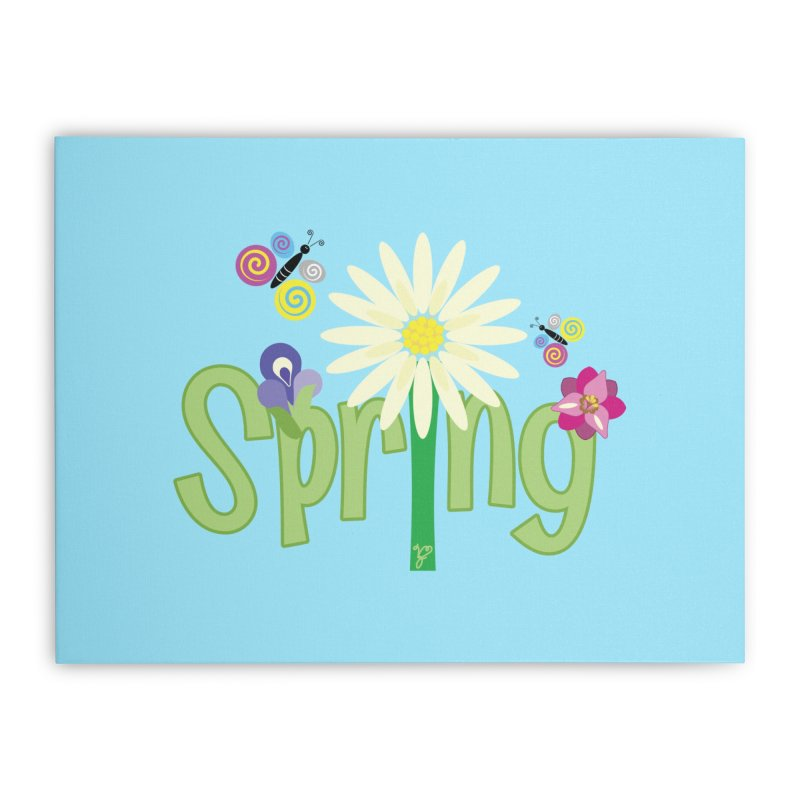 Spring Home Stretched Canvas by PickaCS's Artist Shop