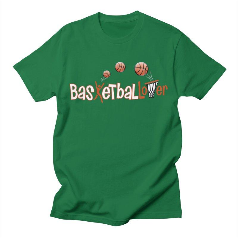 Basketball Lover Men's T-Shirt by PickaCS's Artist Shop