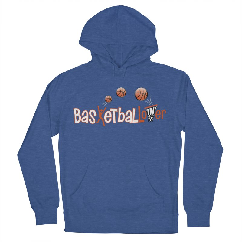 Basketball Lover Men's Pullover Hoody by PickaCS's Artist Shop