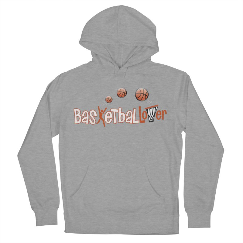 Basketball Lover Men's French Terry Pullover Hoody by PickaCS's Artist Shop