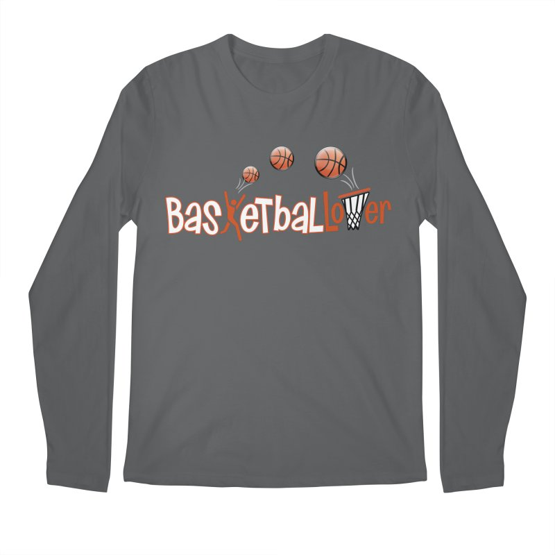 Basketball Lover Men's Regular Longsleeve T-Shirt by PickaCS's Artist Shop
