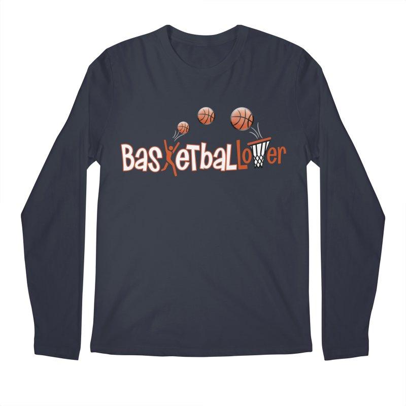 Basketball Lover Men's Regular Longsleeve T-Shirt by PickaCS's Artist Shop