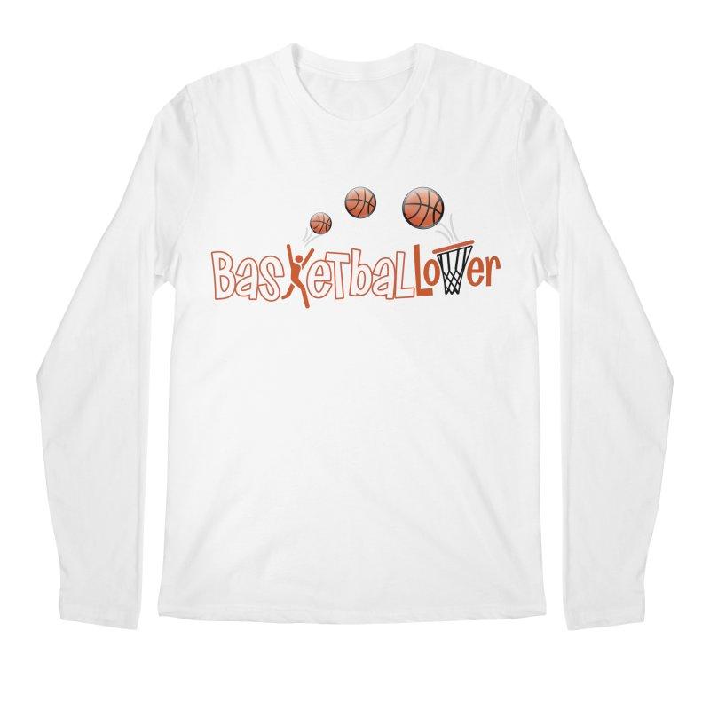 Basketball Lover Men's Longsleeve T-Shirt by PickaCS's Artist Shop