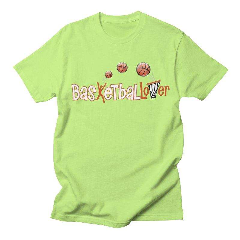 Basketball Lover Women's Regular Unisex T-Shirt by PickaCS's Artist Shop