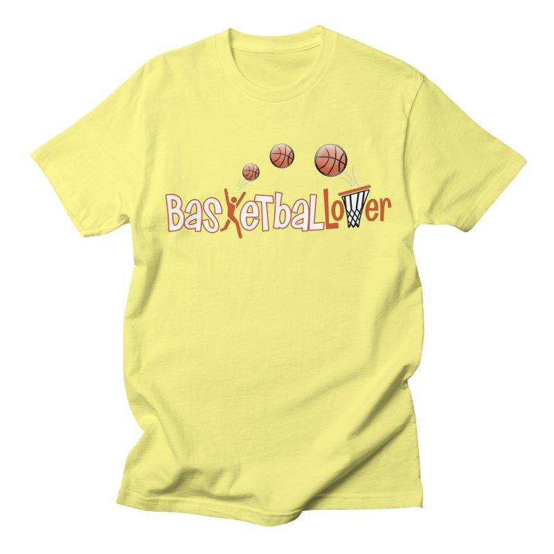 Basketball Lover Men's Regular T-Shirt by PickaCS's Artist Shop