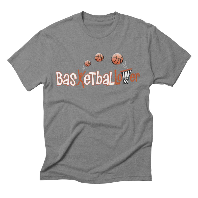 Basketball Lover Men's Triblend T-Shirt by PickaCS's Artist Shop
