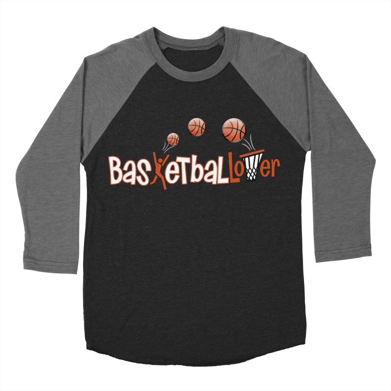 Basketball Lover Men's Baseball Triblend Longsleeve T-Shirt by PickaCS's Artist Shop