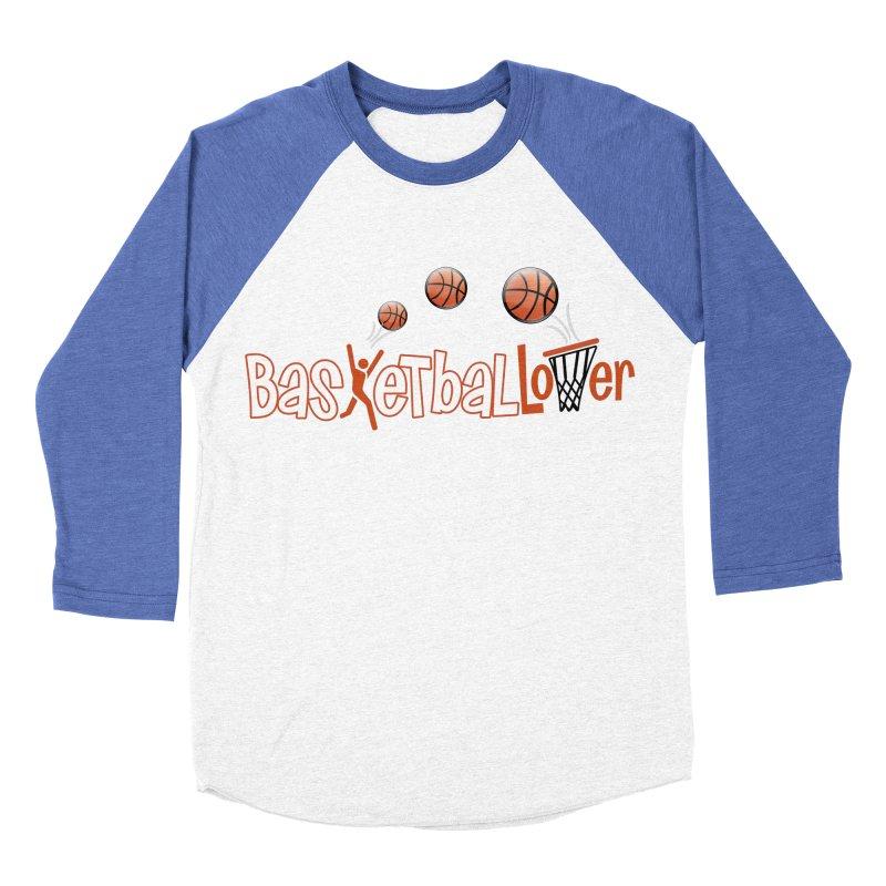 Basketball Lover Men's Baseball Triblend Longsleeve T-Shirt by PickaCS's Artist Shop