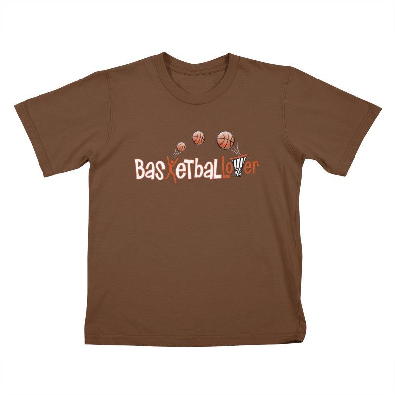 Basketball Lover Kids T-Shirt by PickaCS's Artist Shop